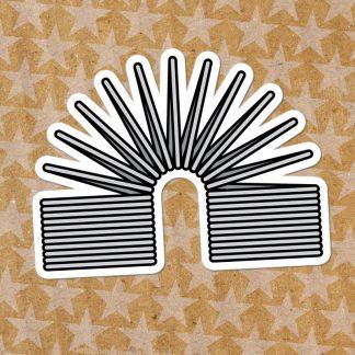 Retro Slink Sticker